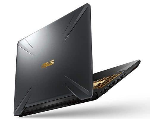 ASUS TUF505DU-EB74 (2019) gaming laptop lid