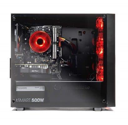 SkyTech Blaze tempered side panel