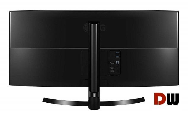 LG 34UC80-B back ports