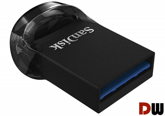 SanDisk 256GB Ultra Fit USB 3.1 Flash Drive design