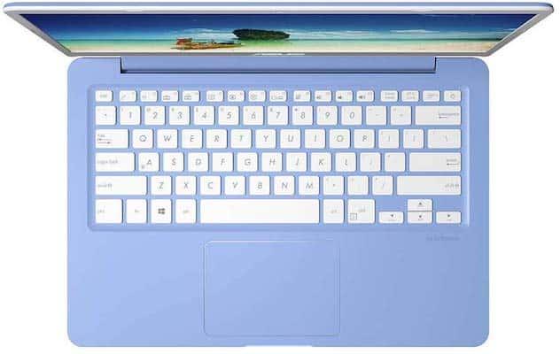ASUS Cloudbook E406SA keyboard
