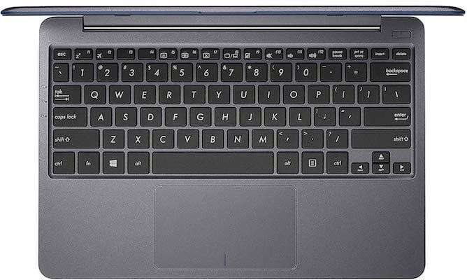 ASUS VivoBook L203MA keyboard