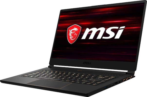 MSI GS65 Stealth-006 side