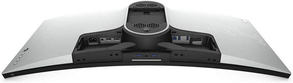 Alienware AW3420DW ports