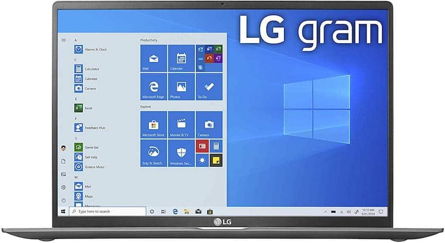 LG GRAM 17 (17Z90N) display