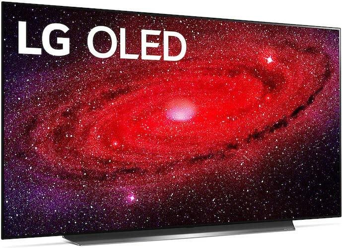 LG OLED65CXPUA (LG CX, 2020) front