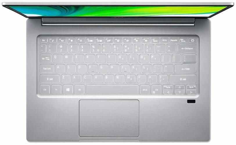 Acer Swift 3 (SF314-42-R9YN) keyboard