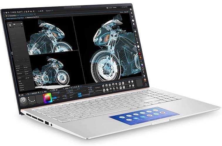Asus ZenBook 15 (UX534FTC-AS77 design