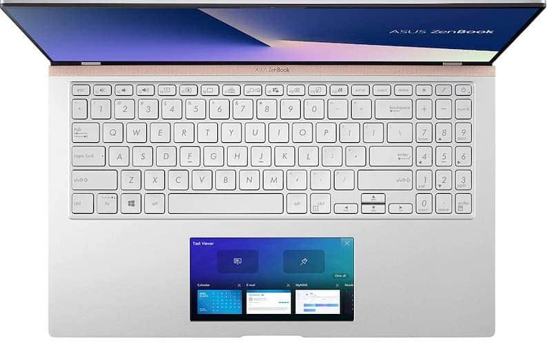 Asus ZenBook 15 (UX534FTC-AS77 screen pad