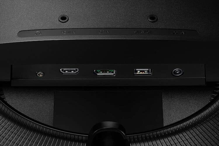 Samsung Odyssey G5 (LC32G55TQWNXZA) ports