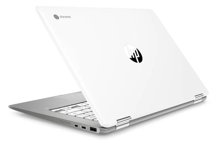 HP 14b-ca0010nr Chromebook X360 ports