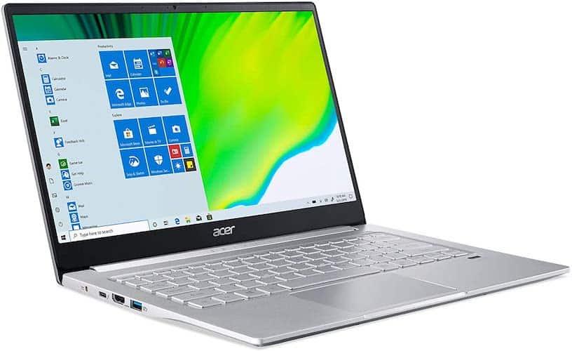Acer Swift 3 SF314-59-75QC screen