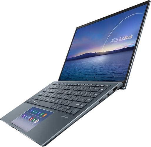 ASUS ZenBook 14 UX435EG-XH74 keyboard