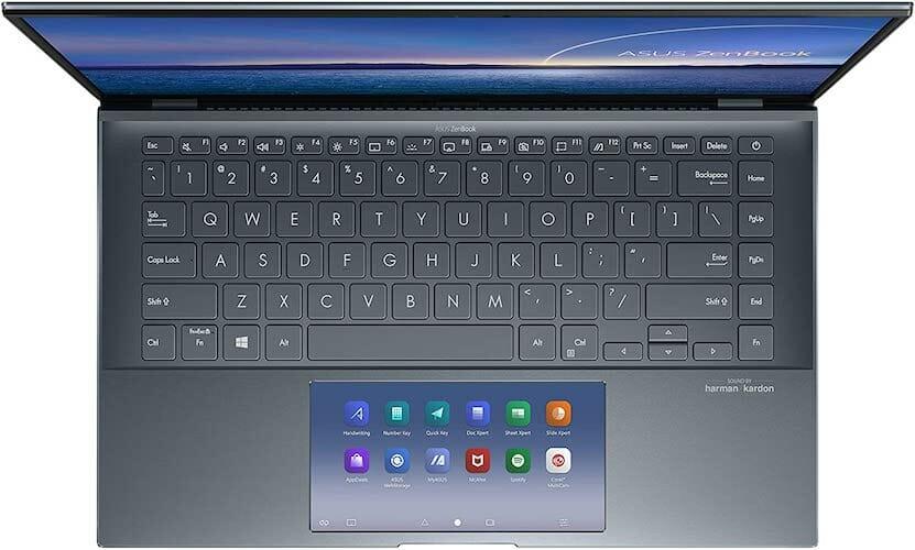 ASUS ZenBook 14 UX435EG-XH74 screenpad